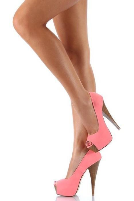 legs, pink, shoes