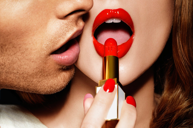 lipstick, makeup, red lips, tom ford