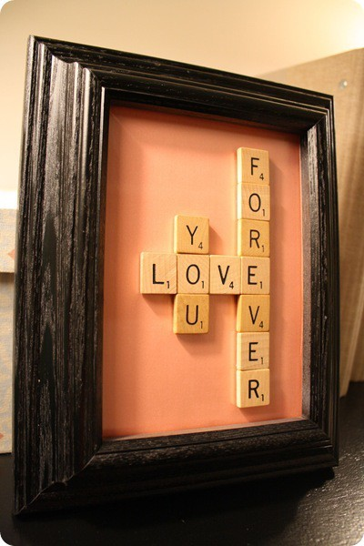 love, picture frame, rhino, scrabble