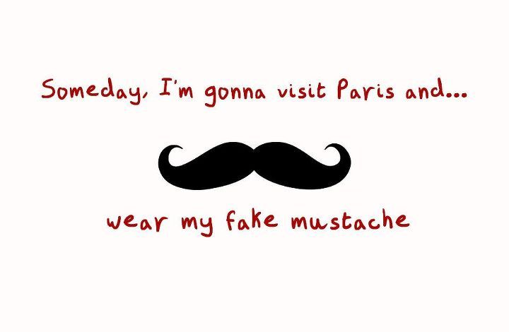 mustache, paris, style