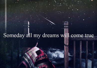 night, quote, someday, text
