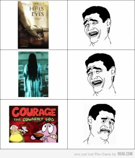 &quot;d, cool, courage the cowardly dog, forever alone, funny