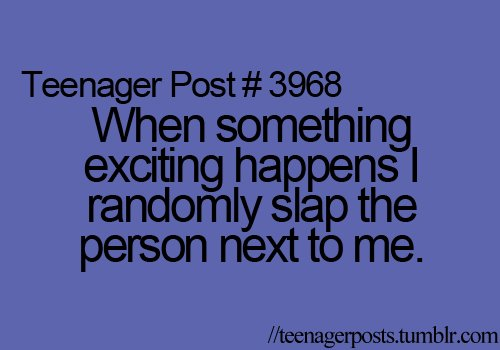 teenager post, text, true
